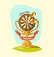 Darts Club Golden Cup vector image vector image