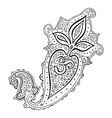 Paisley Ethnic ornament Om Aum Symbol vector image vector image