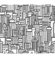 Seamless pattern of city