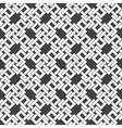 Seamless pattern of intersecting letters H vector image vector image