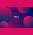 abstract background with geometric gradient vector image vector image