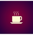 coffe Flat design style vector image