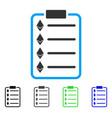 ethereum list pad flat icon vector image