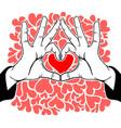 symbolic love vector image
