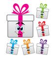 gift box symbols vector image