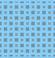 abstract repeating square pattern design vector image vector image