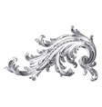 Acanthus Scroll vector image