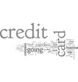 american express credit card a company history vector image vector image