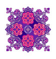 arabic ornament mandala vector image