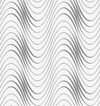 Perforated waves with uneven thickness vector image vector image