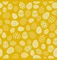 seamless background to easter with eggs 2 vector image vector image