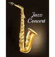 A saxophone vector image