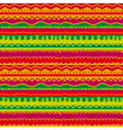 childish stryped background with zigzag and lines vector image vector image