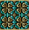 colorful ethnic 3d seamless pattern repeat vector image vector image