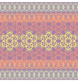 colorful lace pattern vector image