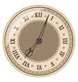 Isolated old clock vector image vector image