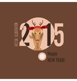Merry Christmas and Happy New Year Cards vector image vector image
