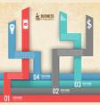 teamwork business infographics vector image