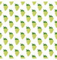 white grapes seamless pattern bunches of green vector image