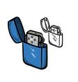 Lighter vector image