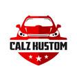 automotive car shield logo design