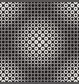 halftone circles seamless pattern abstract vector image vector image