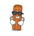 super cool cinnamon character cartoon style vector image vector image