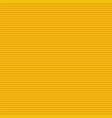 yellow horizontal stripes pattern vector image vector image
