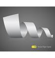 2445 paper spyral vector image