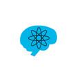 brainstorm icon colored symbol premium quality vector image