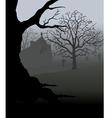 Creepy Graveyard vector image vector image