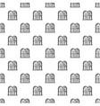jewish stones pattern seamless vector image