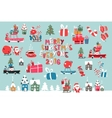 Merry Christmas 2016 Collection vector image vector image