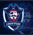 pirates sport logo vector image vector image