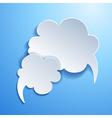 Speech bubble Cloud vector image vector image