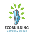 Eco Building Design vector image