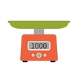 Food Scale Icon vector image