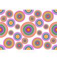 african print fabric ethnic ankara floral motifs vector image
