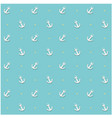 anchor dots pattern blue background image vector image