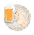 Get a Beer vector image vector image