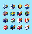 lgbt state flag set 2 same-sex marriages symbol vector image vector image
