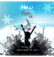 New years party vector image vector image