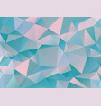 Polygonal geometric pattern vector image