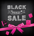 Poster Sale Black FridayTypography vector image