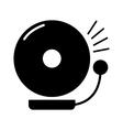 School bell icon vector image vector image