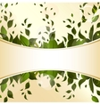 Abstract background with green leaves for design