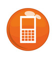 cellphone service button icon vector image
