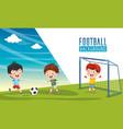 children background vector image vector image