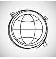 Communication design Media icon Flat vector image vector image