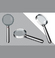 magnifying glass eps10 vector image vector image
